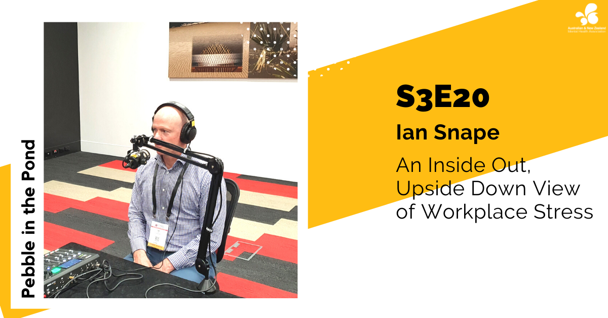 Ian Snape: An Inside Out, Upside Down View of Workplace Stress