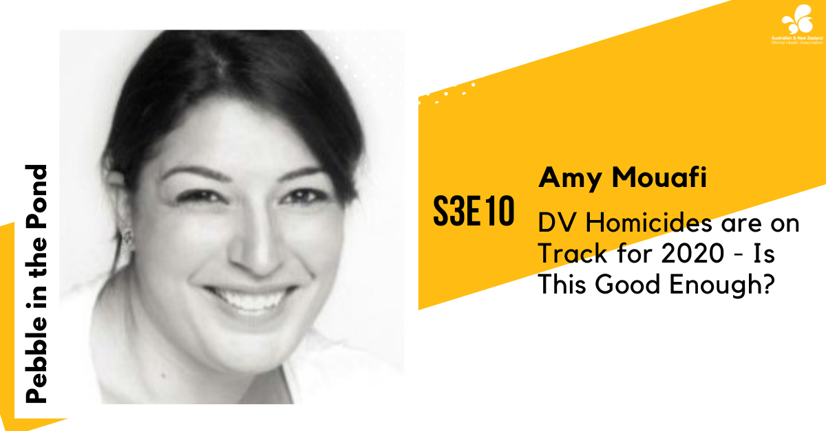S3:E10 | Amy Mouafi: DV Homicides are on Track for 2020 - Is This Good Enough?